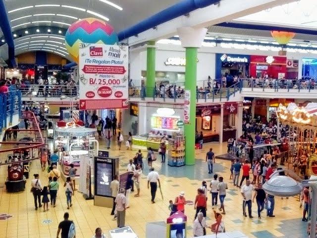 Centros comerciales plazas 507 Panama