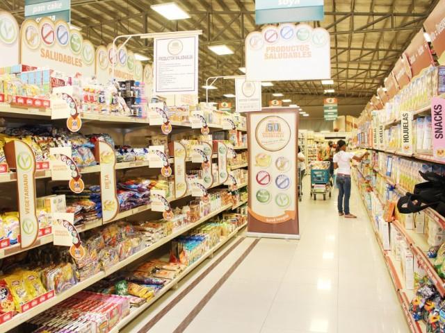 Gran distribución al por mayor menor supermercados 507 Panama